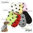 犬用 服 PAスリーブレスTシャツ Puppy Angel Star Sleeveless T-shirts XS,S,SM,M,ML,L,XLサイズ パピーエンジェル