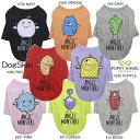 犬用 PAモンスターズロングスリーブTシャツ Puppy Angel Angel Monsters Long Sleeve T-shirts:S,SM,M,ML,L,XLサイズ パピーエンジェル 洋服 ドッグウェア 多頭飼い