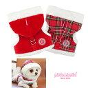 犬用 胴輪 サンタピンカハーネス:S,M,Lサイズ クリスマス PINKAHOLIC ピンカホリック 犬 ペット ドッグ
