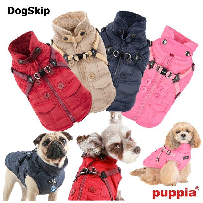 犬用 ウィルクスハーネスハーネスジャンパー WILKES:XLサイズ PUPPIA パピア 胴輪 犬 ペット ドッグ 洋服 ダウン hvt
