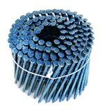 【トータルファスニング】2×4ワイヤー連結釘・CN75 ■150本×10巻■《TWF38-75青(150本×10巻)》