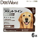 ショッピングフロントラインプラス 犬用 フロントライン プラス ドッグ 犬用 L 20〜40kg未満 6本入(2.68mL×6)