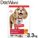ショッピングサイエンスダイエット ヒルズ サイエンスダイエット シニア アドバンスド 小粒 高齢犬用 3.3kg