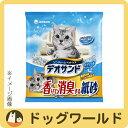 ユニチャーム 猫砂 デオサンド 香りで消臭する紙砂 ナチュラルソープの香り 5L 【猫砂】