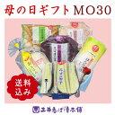母の日ギフトMO30    カーネーション(造花)付き 送料込 【 京漬物 】【 母の日