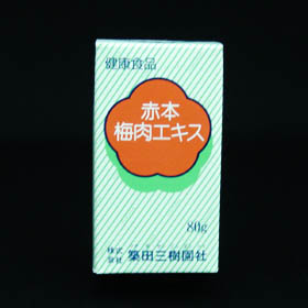 Akahon plum meat extract 80 g