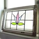 建具 ガラス ステンドグラス 窓 採光 明かりとり イギリス アンティーク 教会 チャペル