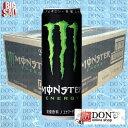 【炭酸飲料・栄養ドリンク】アサヒ モンスターエナジー (355ml/1ケース/24缶入)