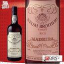 ウェルシュ・ブラザーズ マデイラ ファイネスト リッチ ポルトガル ワイン 750ml