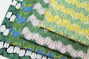 生地 日本製 momen-t 北欧風 綿麻 プレミアムソフト加工 生地 布 花柄 チューリップ 新柄 おしゃれ かわいい 生地幅110cm50cm以上、10単位の販売です。購入例)数量5=50cm、数量17=1.7m