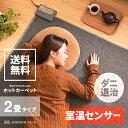 ホットカーペット 2畳 電気カーペット 二畳 正方形 送料無...