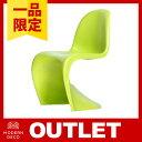 \ 1品限りのアウトレット大幅値下げ /Panton Chair グリーン※傷あり (使用上問題なし)