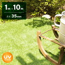 人工芝 ロール 1m×10m 芝丈35mm 送料無料 人工芝 芝生マット 人工芝生 人工芝マット