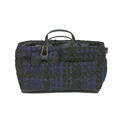 【150円クーポン】 ROOTOTE ルートート ルーキャリッジ リュストル 0B Tweed-nvy <ルートート バッグインバッグ バッグ イン レディース メンズ 秋冬 整理 鞄 bag>