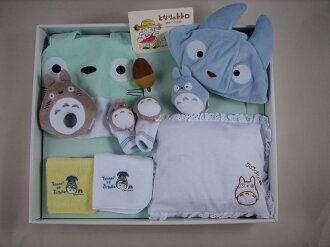 My Neighbor Totoro baby gift set 10A bib set K-1738-10000fs3gm