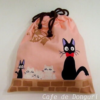 Kiki's Delivery Service drawstring purse M pink [studio ghibli] [Ghibli-goods] fs2gm [RCP] [marathon201305_toy] [02P06may13]