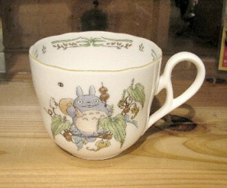 My Neighbor Totoro mug cup small Japanese yam (Noritake prima ballerina China)