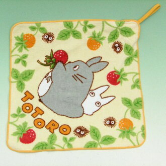 Totoro loop towel strawberry and totoro school towel fs3gm