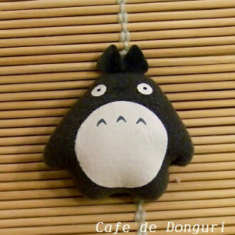 Next to my Neighbor Totoro mini magnet Totoro dark grey fs3gm