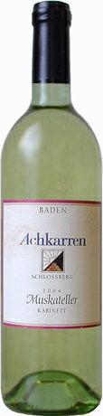 Achkarrer Schlossberg Muskateller Kabinett (Achkarren) アッカーラー Schlossberg muskateller kabinet ( アッカーレン )