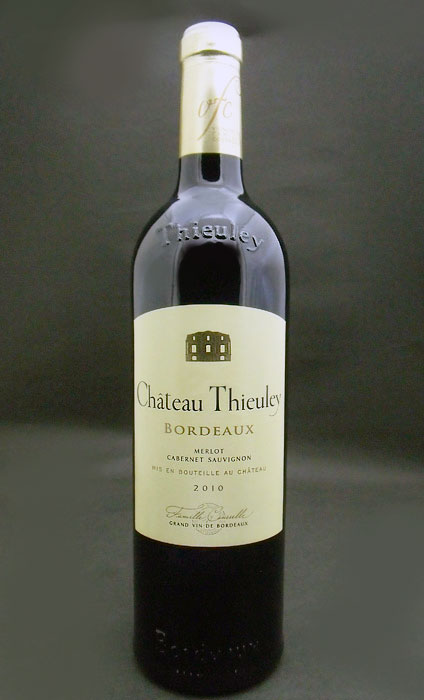 Chateau テューレイ rouge [2010] Chateau Thieuley Rouge [2010]