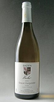 Hoover グラウアーブルグンダー Q.b.A grape Bernhard Huber Huber Grauerburgunder Q. b. A. trocken (Weingut Bernhard Huber)