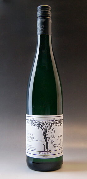 Becker ゲヴュルツトラミナー spätlese grape Friedrich Becker Becker Gewuerzttraminer Spaetlese trocken (Friedrich Becker)