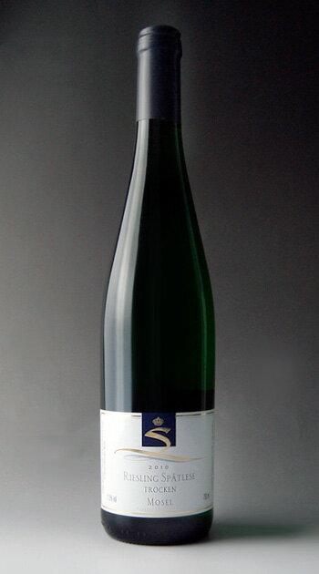 Featuring Riesling spätlese grape (featuring) Steffen Riesling Spatlese Trocken (Weinhaus Gebr. Steffen GmbH)