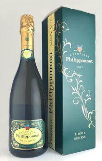 Royal, reserve Brut (メニル・シュール・アイ) (Champagne-Filipina) (no box) Royale Reserve Brut (Champagne Philipponnat)