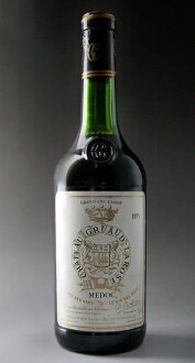 Médoc Grand Cru Chateau Gruma Larose [1973], Classe, rating no. 2 luxury Chateau Gruaud Larose [1973] super rare old wine!