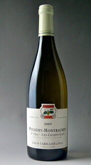It is Puligny Montrachet 1er Les Champs Gains [2009] (Domaine Louis Carillon) ピュリニー モンラッシェプルミエ クリュレ beautifulness cancer [2009] (ドメーヌ Louis carillon)