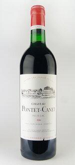 シャトー・ポンテ・カネ [1981] Chateau Pontet Canet [1981]