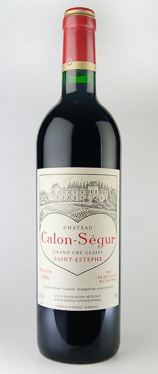 Chateau Karon Ségur rare old wine Chateau Calon Segur