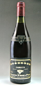 It is 1,500 ml of 1,500 ml of Chambertin Grand Cru [1988] (Domaine Camus Pere et Fils) magnum size Chambertin Grand cru [1988] (ドメーヌ Camus Peer エ フィス)