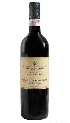 It is Chianti Classico Riserva Le Baroncole [2000] (San Giusto a Rentennano) Chianti クラシコ リゼルヴァ レ baron this [2002] (sun ジュスト a レンテンナーノ)