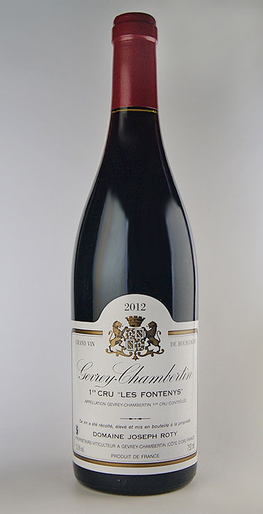 It is Gevrey Chambertin 1er Les Fontenys [2006] (Domaine Joseph Roty) (ドメーヌ Joseph loti) ジュヴレ Chambertin pull Mie クリュレ フォントニィ [2006]