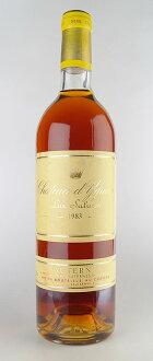 Sauternes Chateau d'yquem [1983], special first class rating Chateau d ' Yquem [1983] Premiers Crus Superieur