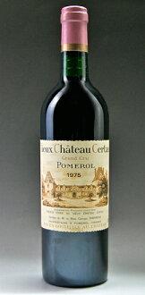 ヴィユー chateau cell tongue [1975] Vieux Chateau Certan [1975]