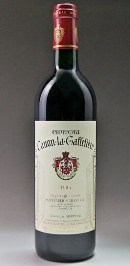 Chateau canon ラ gaff re-yell [1987] Chateau Canon La Gaffeliere [1987]