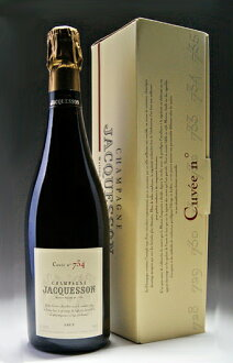 Entering Box for exclusive use of 734 treasuring Jaquesson Cuvee no. (Jaquesson) for exclusive use of ジャクソンキュヴェナンバー 734 (Jackson)