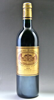 The fifth grade chateau バタイエ[1994]Medoc rating AOC ポイヤック Chateau Batailley [1994]