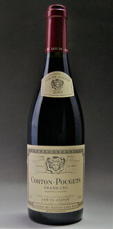 It is Corton Pougets Grand Cru [2001] (Louis Jadot) Colton プジェグラン cru [2001] (Louis ジャド)