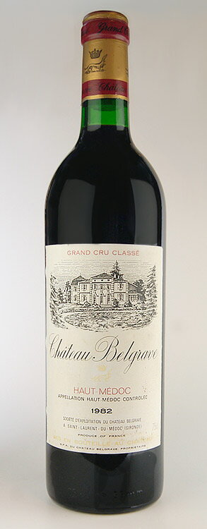 Château Belgrave [1989] Médoc Grand Cru Classe and class v of the rating Chateau Belgrave [1989]