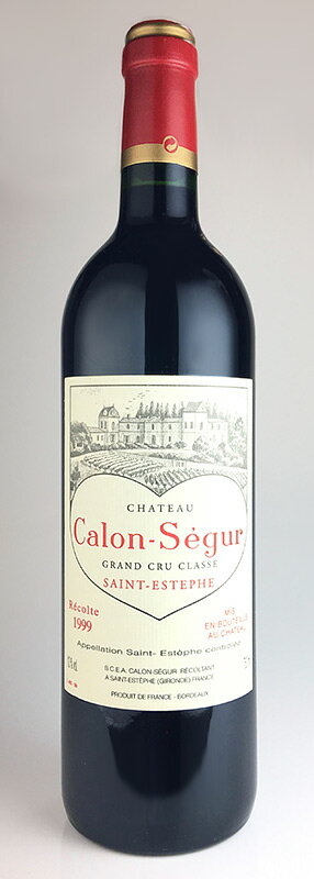 Chateau Karon Ségur [1999] rare old wine Chateau Calon Segur [1999]