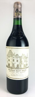 [1975] Château Haut Brion Premier Grand Cru Classe, rating the first class graves Chateau Haut Brion [1975] 1 er Grand Cru Classe du Graves AOC Pessac-Leognan