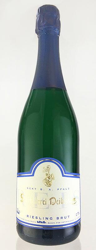 ダイデスハイム ゼクト ブリュット [NV] (ゼクトケラーライ・ダイデスハイム) 750ml Deidesheim Riesling Sekt brut [NV] (Sekltkellerei Deidesheim) 750ml 【ゼクト】【辛口】 【ドイツ】【スパークリング ワイン】