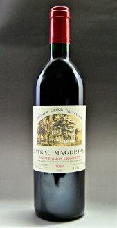 Saint-Emilion Chateaux magdeline [1996], Gran-Cru, Classe B, 1st Special grade Chateau MAGDELAINE [1996