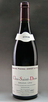 It is Clos Saint Denis Grand Cru [2008] (Pierre Amiot) black Saint-Denis Grand cru [2008] (Pierre アミオ)