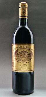 The fifth grade chateau バタイエ[1990]Medoc rating AOC ポイヤック Chateau Batailley [1990]