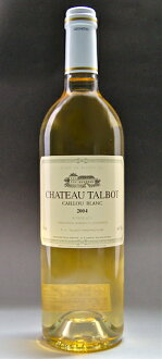 Chateau talbot カイユ buran [2004] Chateau Talbot Caillou Blanc [2004]